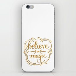 Believe in Magic iPhone Skin