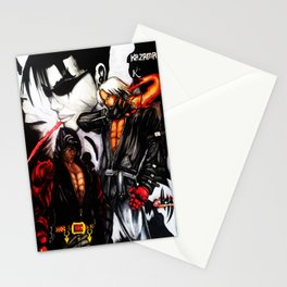 King Of Iron Fighters Stationery Cards