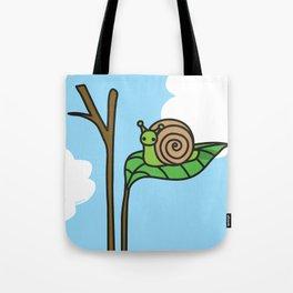 Sweet Snail Tote Bag