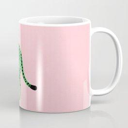 The Stare 2: Tropical Green Cheetah Edition Coffee Mug