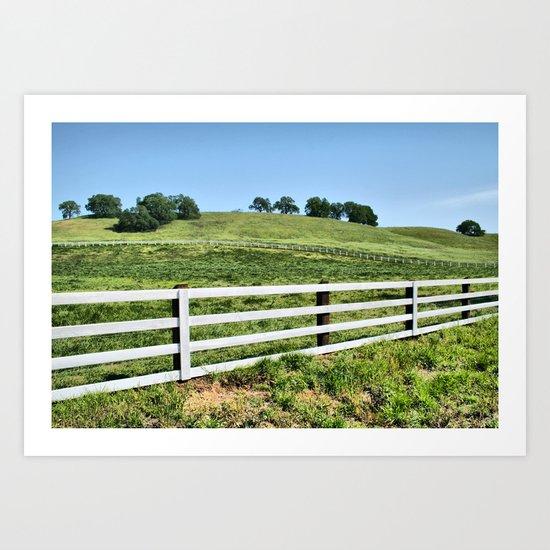 The Ranch Art Print