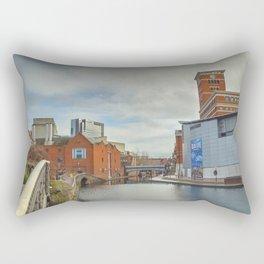 Birmingham Mainline Canal Rectangular Pillow