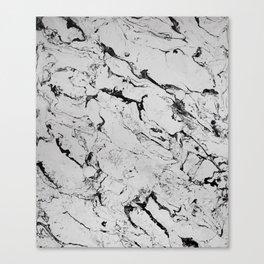 Marble Art V8 Canvas Print