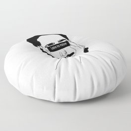 leave me malone Floor Pillow