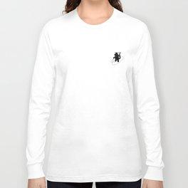 Animal Urbanites: Skunk on Paddle Board Long Sleeve T-shirt