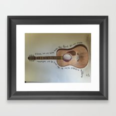 Sing To The Lord Framed Art Print