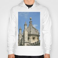 spires Hoodies featuring Spires of All Souls by Ann Horn