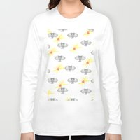 wallpaper Long Sleeve T-shirts featuring INDIAN WALLPAPER by terezamc.