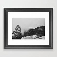 Canyon Fog Framed Art Print