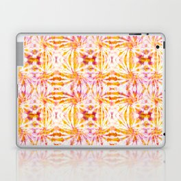 Summer Vibes Tie Dye in Sunrise Orange Laptop & iPad Skin