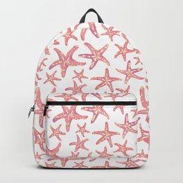 Coral Starfish Backpack