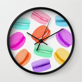 Macaron Rainbow Wall Clock