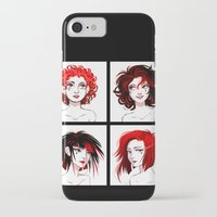 suits iPhone & iPod Cases featuring The Suits by AndytheLemon