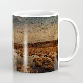 Heron in the Marshes Coffee Mug