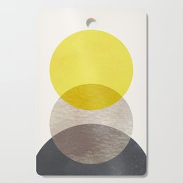 SUN MOON EARTH Cutting Board