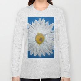 Egyptian Blue Daisy Long Sleeve T-shirt