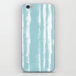 Shibori Stripe Seafoam iPhone Skin