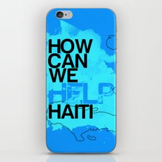Hope for Haiti. iPhone & iPod Skin
