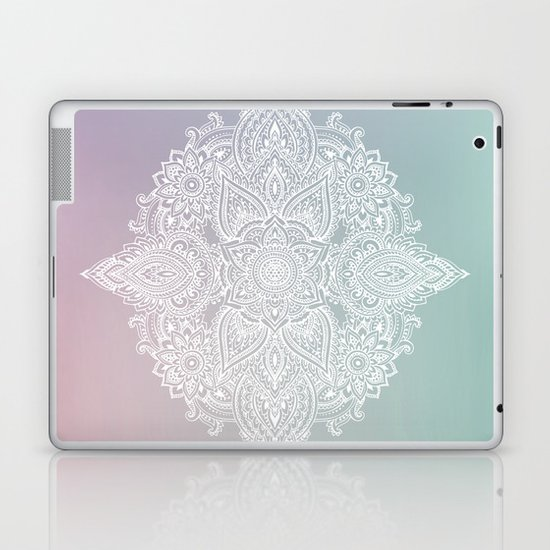 Mehndi Tattoo Ancient India Laptop & iPad Skin