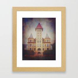 Castle in the Sky (19th Century Kirkbride Mental Asylum)  Framed Art Print