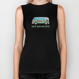 Hippie Bus T-Shirt Biker Tank