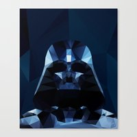 darth Canvas Prints featuring Darth by Ed Burczyk