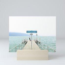 Embarcadère du Léman - Leman Jetty Mini Art Print
