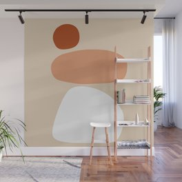 Abstract Shape Series - Stacking Stones Wall Mural