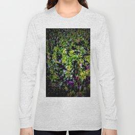 Foliage along the Sidewalk Long Sleeve T-shirt