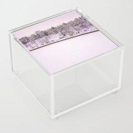 Winter in Bucharest Acrylic Box