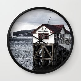 The Old Boathouse. Wall Clock