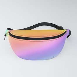 Bright Prismatic Rainbow Design! Fanny Pack