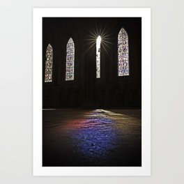 Towards the Light Art Print