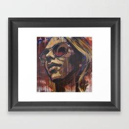Libby in the Sun Framed Art Print