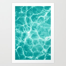 Pool Dream #1 #water #decor #art #society6 Art Print