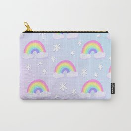 Magical Pastel Rainbows! Carry-All Pouch