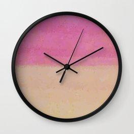 Annaliese's Rainbow Wall Clock