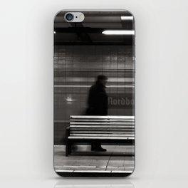 """GHOSTTRAIN of Berlin """"VACANCY"""" zine iPhone Skin"""
