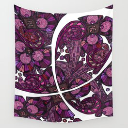 Pink Ribbon Support Wall Tapestry