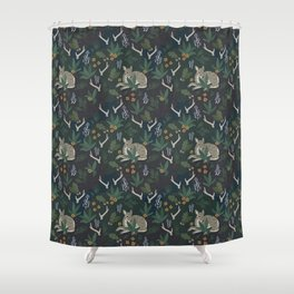 Out on the Land Shower Curtain