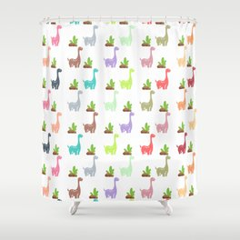 Dinosaur World Shower Curtain
