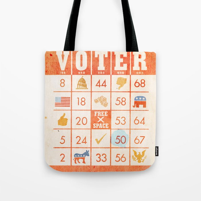 The Bingo Vote Tote Bag