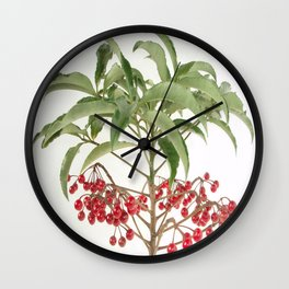 Spice Berry  Wall Clock