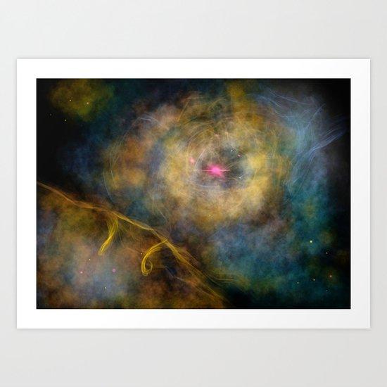 Orion Snapshot Art Print