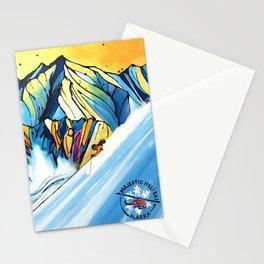 Majestic Heli Ski 2017 Stationery Cards