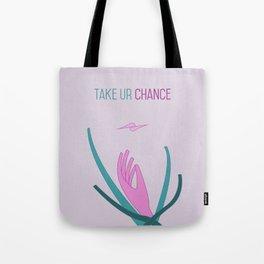 Take Chance Tote Bag