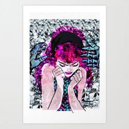 TAKEN Art Print