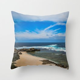 Rottnest Island Beach Throw Pillow