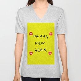 happy new year 13 Unisex V-Neck
