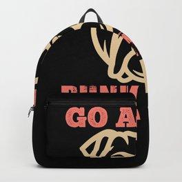 Go ahead punk make my day Backpack